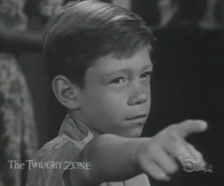 Billy Mumy in The Twilight Zone episode Its A Good Life