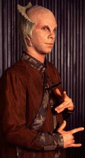 Billy Mumy as Lennier in Babylon 5