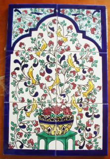 Multi-tile artwork from Tunis