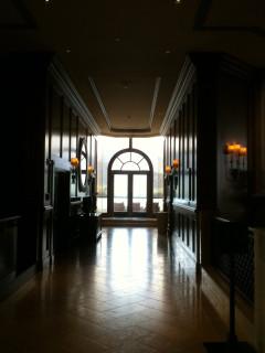 St. Regis Hotel (Princeville, Kauai) lobby hallway