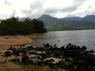 St. Regis Hotel (Princeville, Kauai) private beach