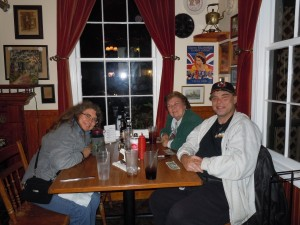 Dinner at the Prince of Wales pub - Saint Augustine, Florida