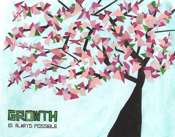 Cherry Blossom Tree: Growth Is Always Possible