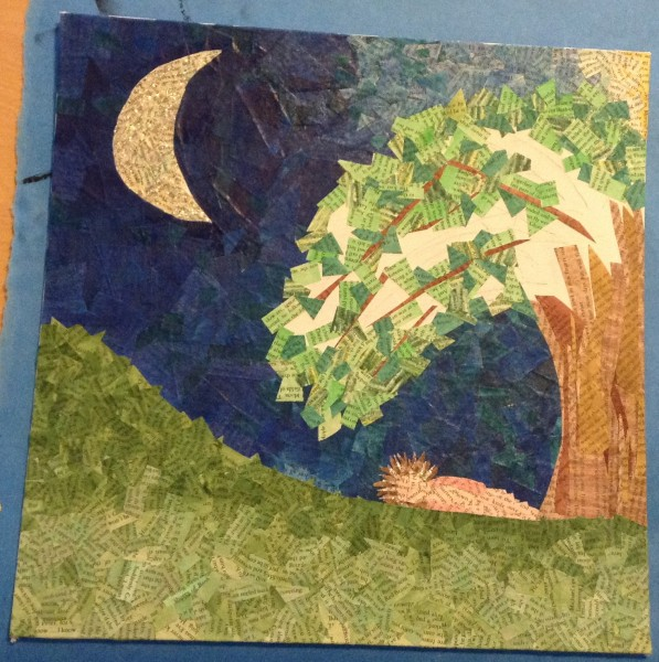 Giving Tree (collage in progress)