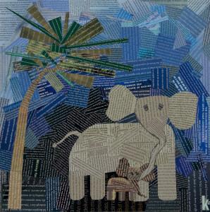Protection (elephant) photo