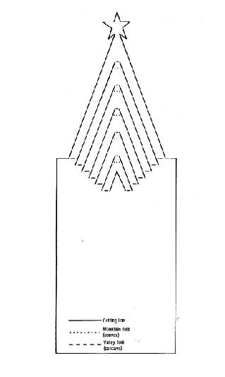 схема. Метки: pop-up, киригами