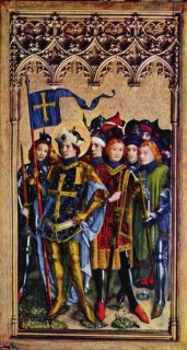 St. Gereon and his troupe of men