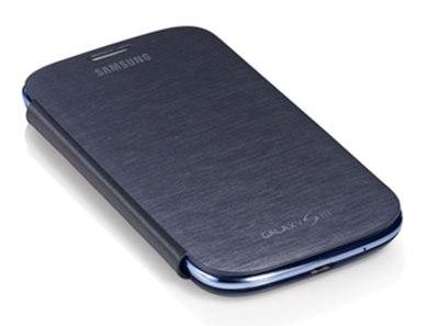 S3 Flip Cover Blue3