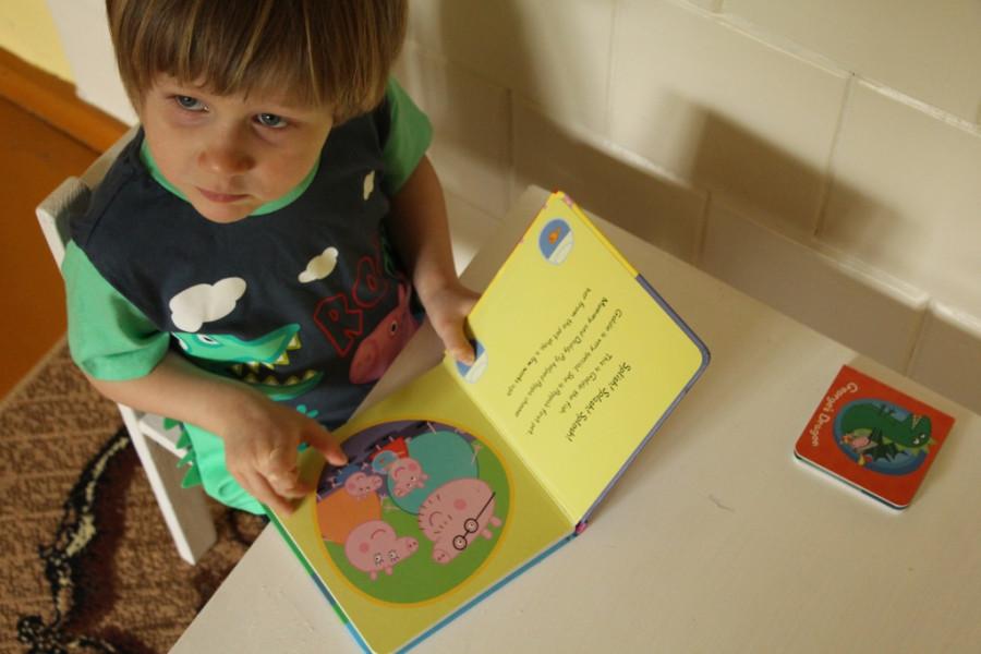 детские книги на английском языке. Свинка Пеппа