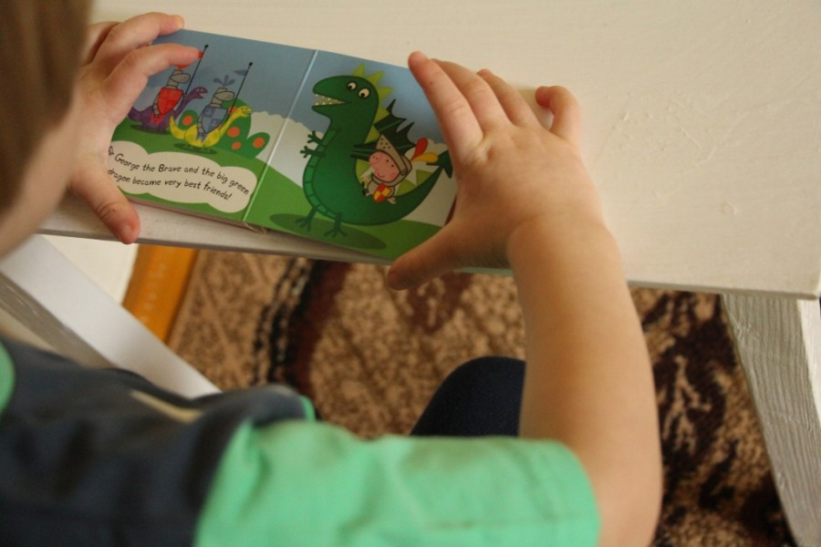 маленькая книжка про свинку Пеппу на английском
