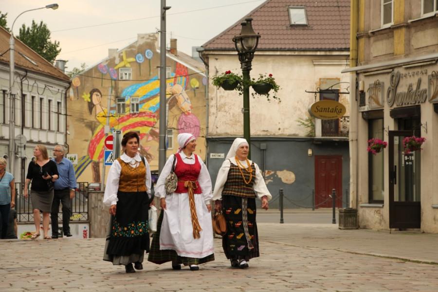 Фольклорный фестиваль Atataria в Каунасе (2)