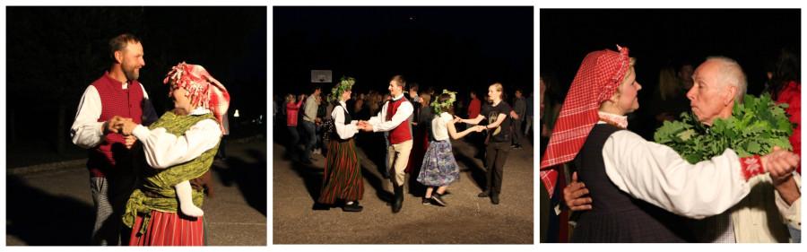 Йонинес. Ночные танцы