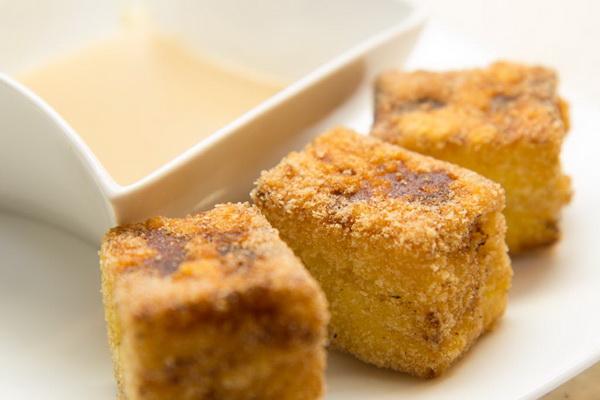 Fried custard /Crema fritta