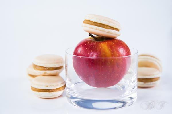 Макарон со вкусом яблочного пирога