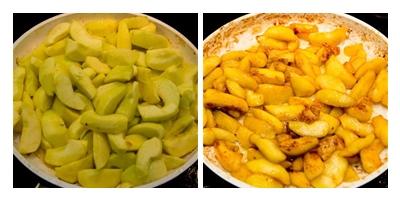 яблоки карамелизированные