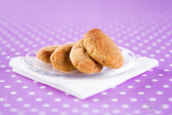 Детское творожно-гречневое печенье
