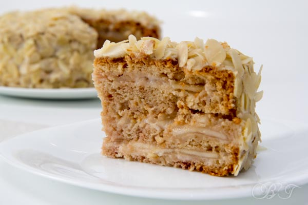 торт грушевый
