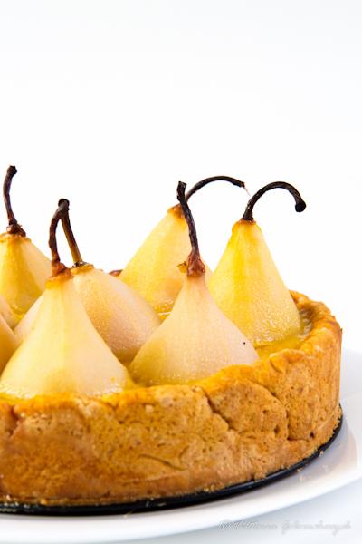 Pear and Custard Tart