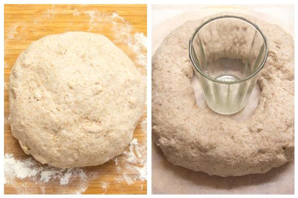 формируем хлеб