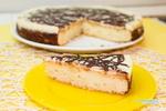 Творожный пирог с шоколадной заливкой_новый размер