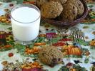 Тыквенное овсяное печенье с шоколадом_новый размер