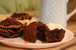 шоколадные кексы_новый размер