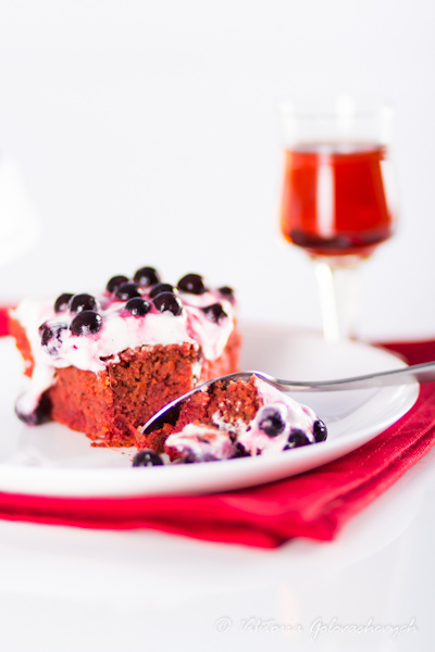 Surprise pudding