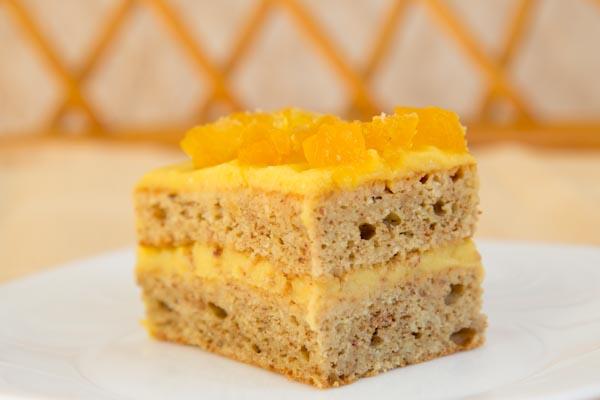 торт тыквенно-ореховый