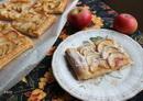 Пирог из слоёного теста с яблоками_новый размер