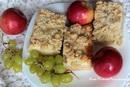 пирог с виноградом и яблоками_новый размер