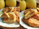 Творожно-яблочные оладьи _новый размер