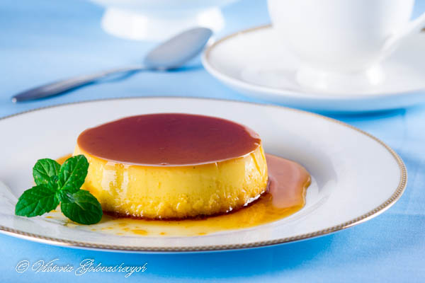 Crème Caramel (Caramel Custard)