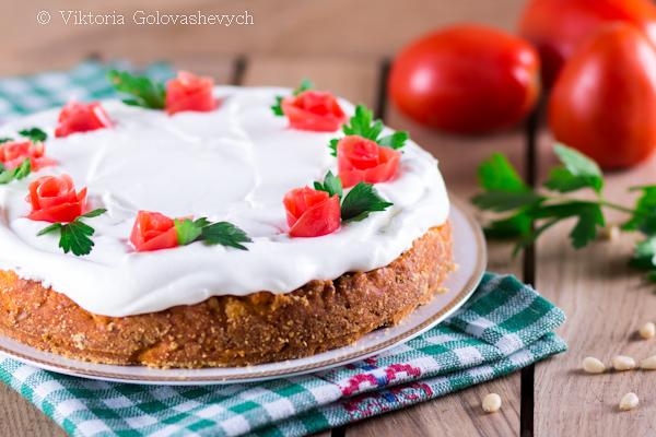 томатный торт