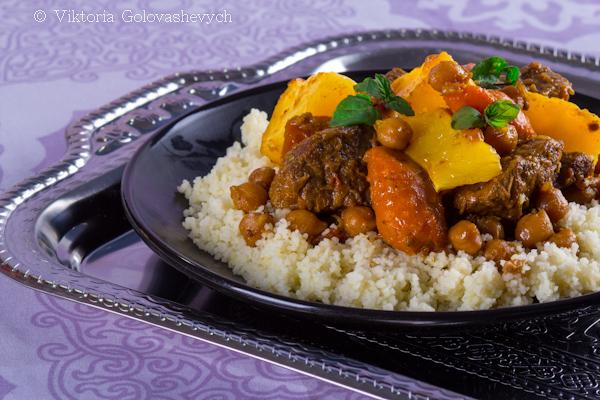 Couscous bœuf-carottes