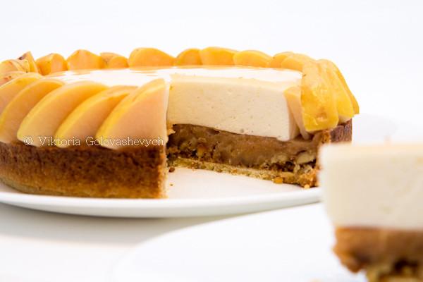 тарт с айвой
