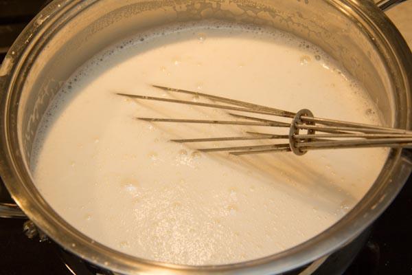 желтково-молочная смесь