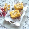 Тыквенные пирожные с кокосом