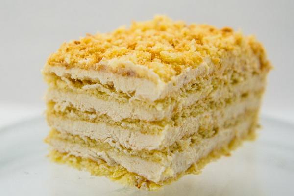 Торт с творожно-банановым кремом_600