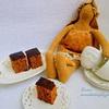 Кофейно-медовая коврига с орехами_новый размер