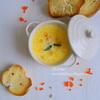 Рыбный суп с  чеддером и шалфеевым маслом -  Fish soup with cheddar and butter with sage_новый размер