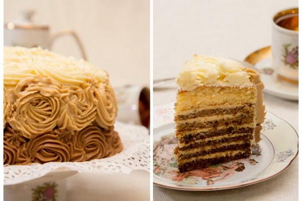 торт и разрез