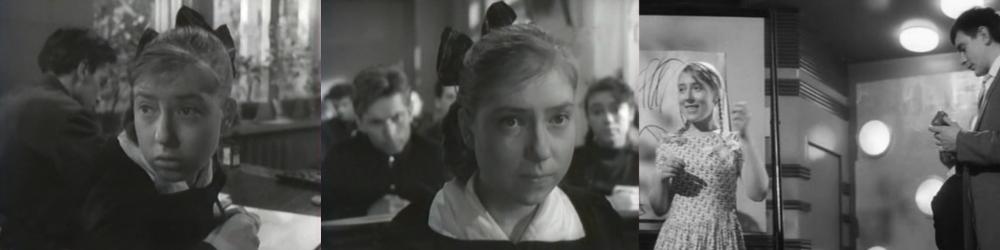 003 Инна Чурикова_Тучи над Борском (1960) Я шагаю по Москве (1963)