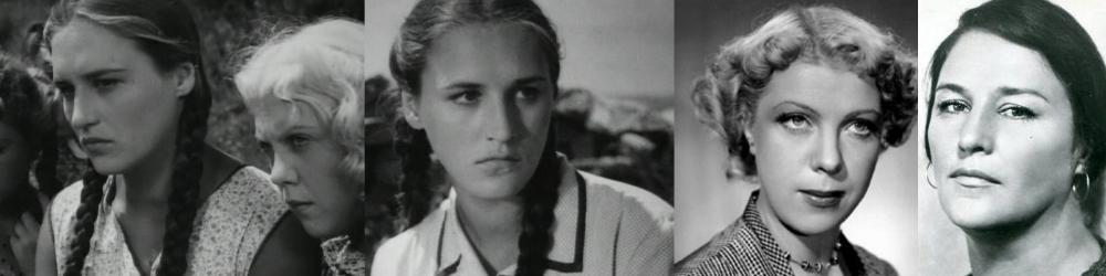 Нонна Мордюкова и Тамара Носова Молодая гвардия (1948)