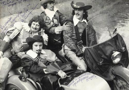 003 Д'Артаньян и три мушкетёра из архива известного каскадёра Николая Ващилина