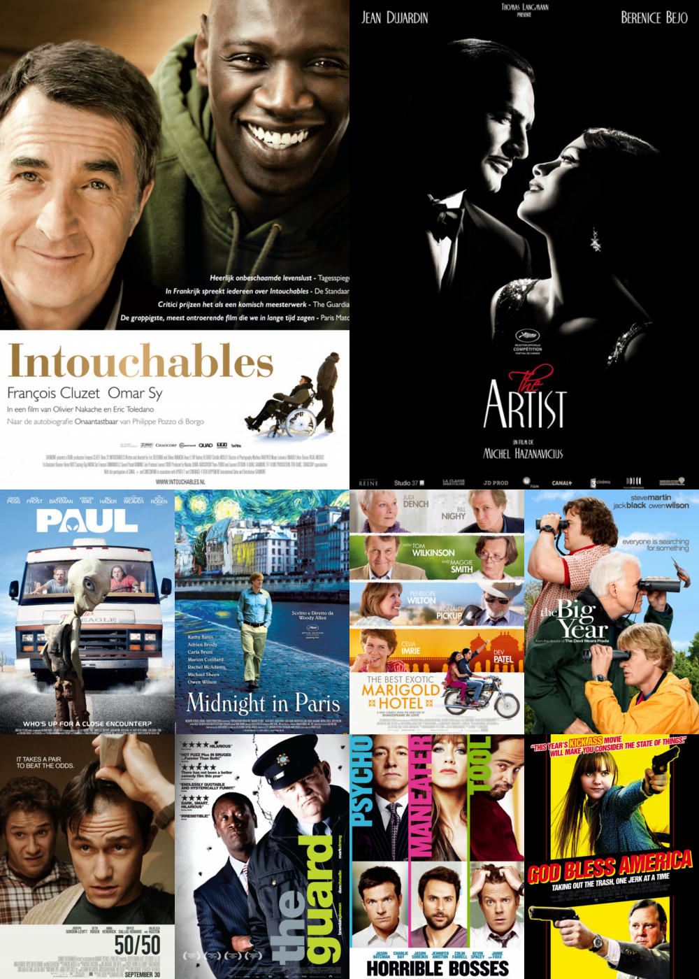 Top 10 Comedy Movies 2011
