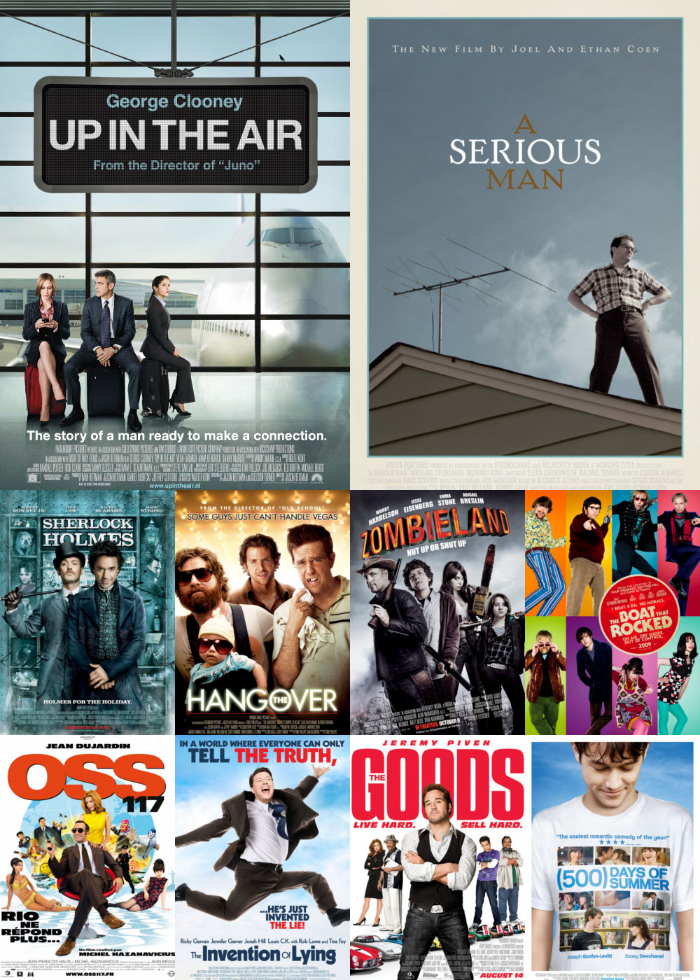 Top 10 Comedy Movies 2009