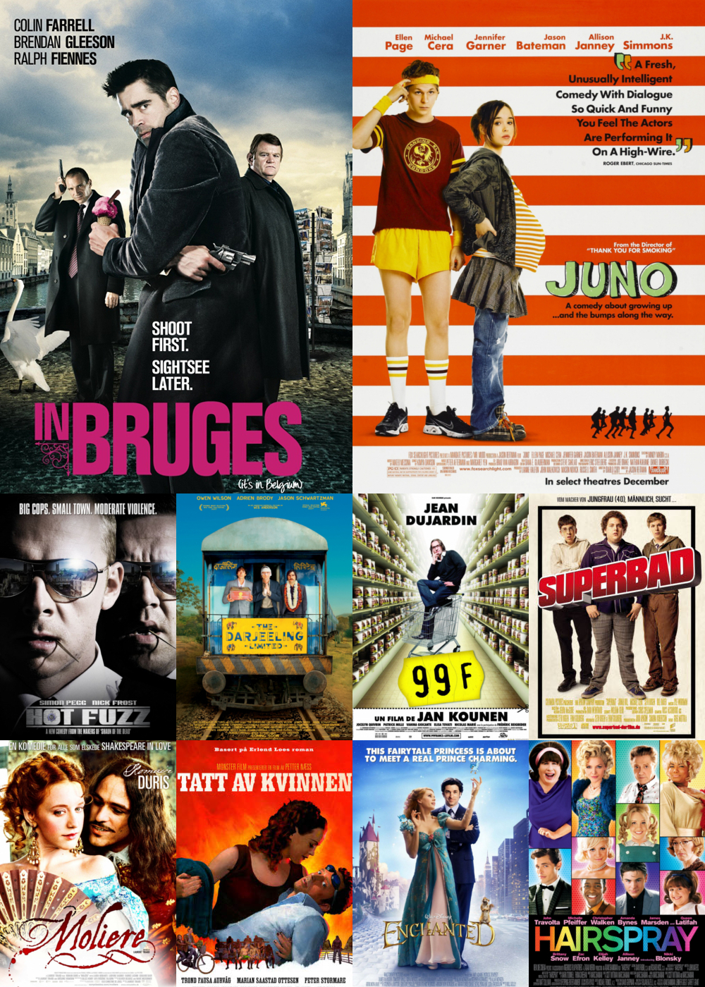 Top 10 Comedy Movies 2007