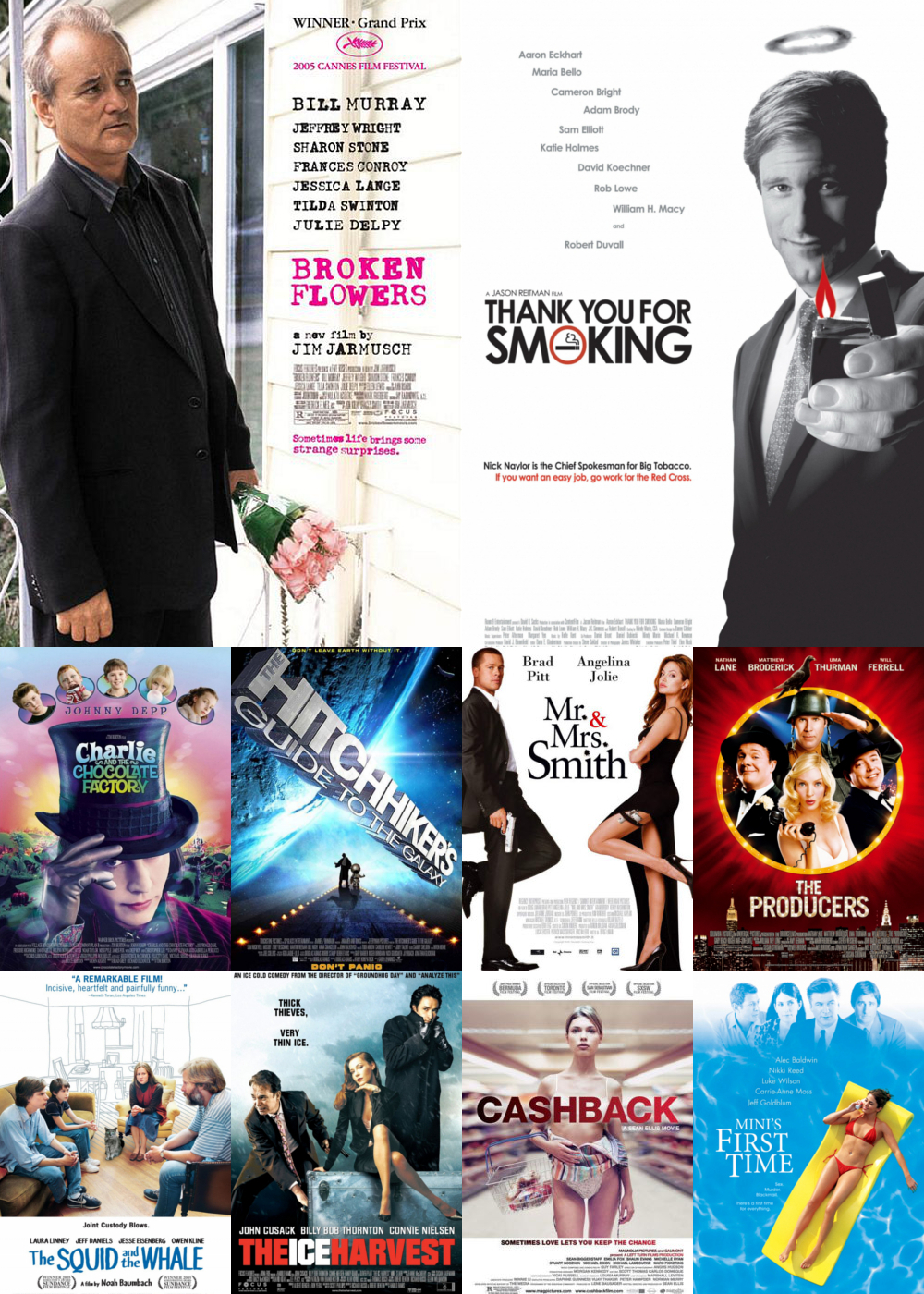 Top 10 Comedy Movies 2005