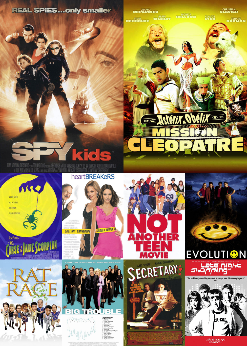 Top 11-20 Comedy Movies 2001