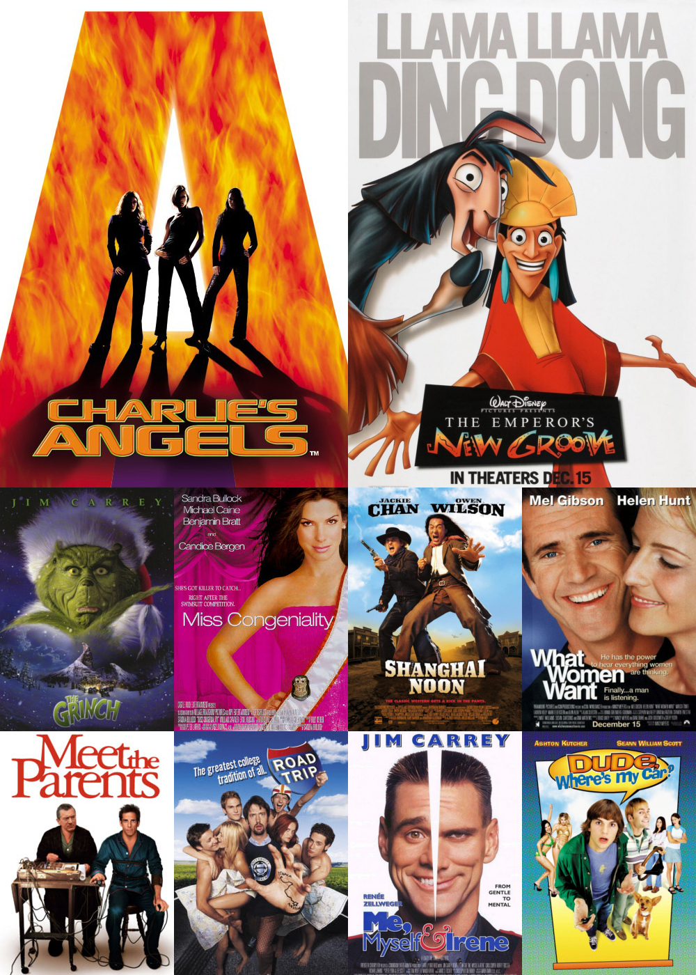 Top 11-20 Comedy Movies 2000